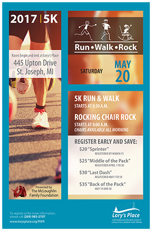 Run Walk Rock Poster